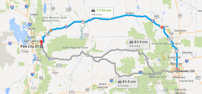 Geeks on Tour Blog: The Scenic Route thru Colorado