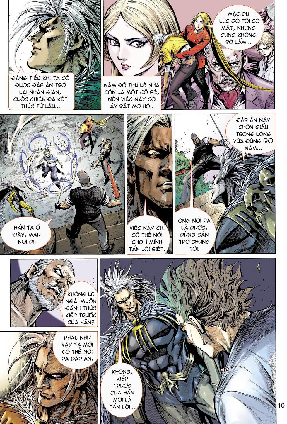 Thần Binh 4 chap 16 - Trang 10