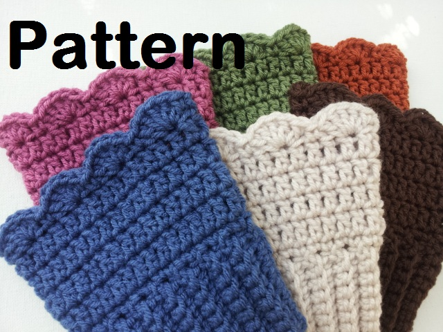 Raising Mimi @PoochieBaby: Featured Pattern: Crochet Boot Cuffs