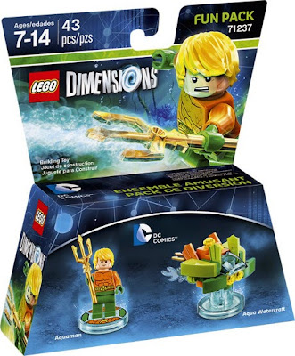 JUGUETES - LEGO Dimenions  71237 DC Comics : Fun Pack - Aquaman & Aqua Watercraft  Piezas: 43 | Edad: 7-14 años Comprar en Amazon.es | Buy Amazon.com :