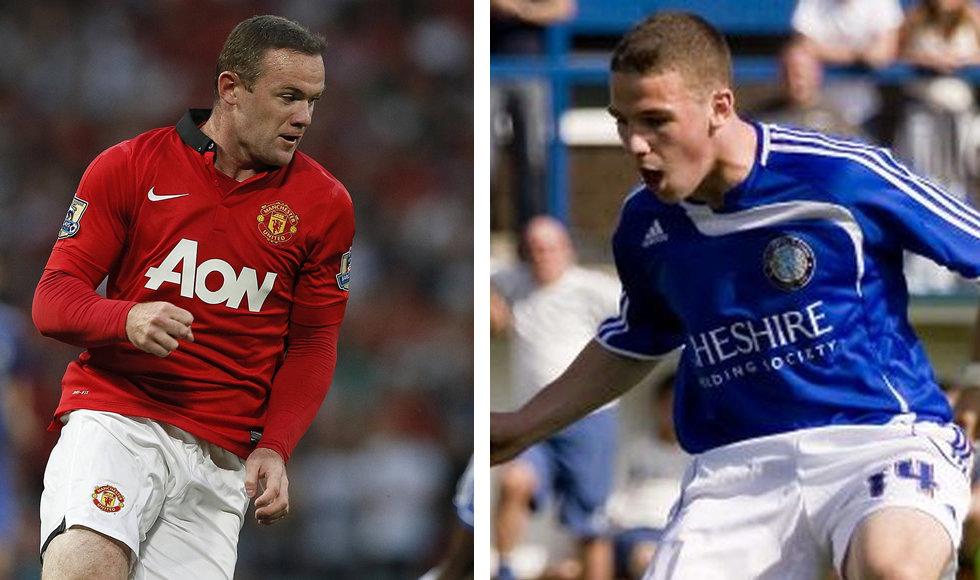 Wayne Rooney Everton Tattoo Brother John Rooney