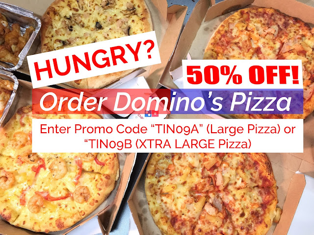 [Singapore] PROMO CODE: 50% OFF Domino's Pizza!