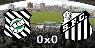Ficha da Bola Placar Figueirense 0x0 Santos
