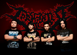 Tormented Bleed band Brutal Death Metal Gorontalo Sulawesi Utara Indonesia Foto Personil Images Artwork Logo Wallpaper