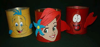 The Little Mermaid Children Parties Centerpieces