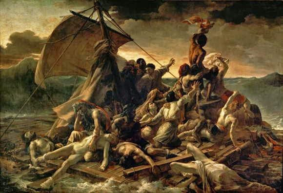 Lukisan Theodore Gericault The Raft of The Medusa