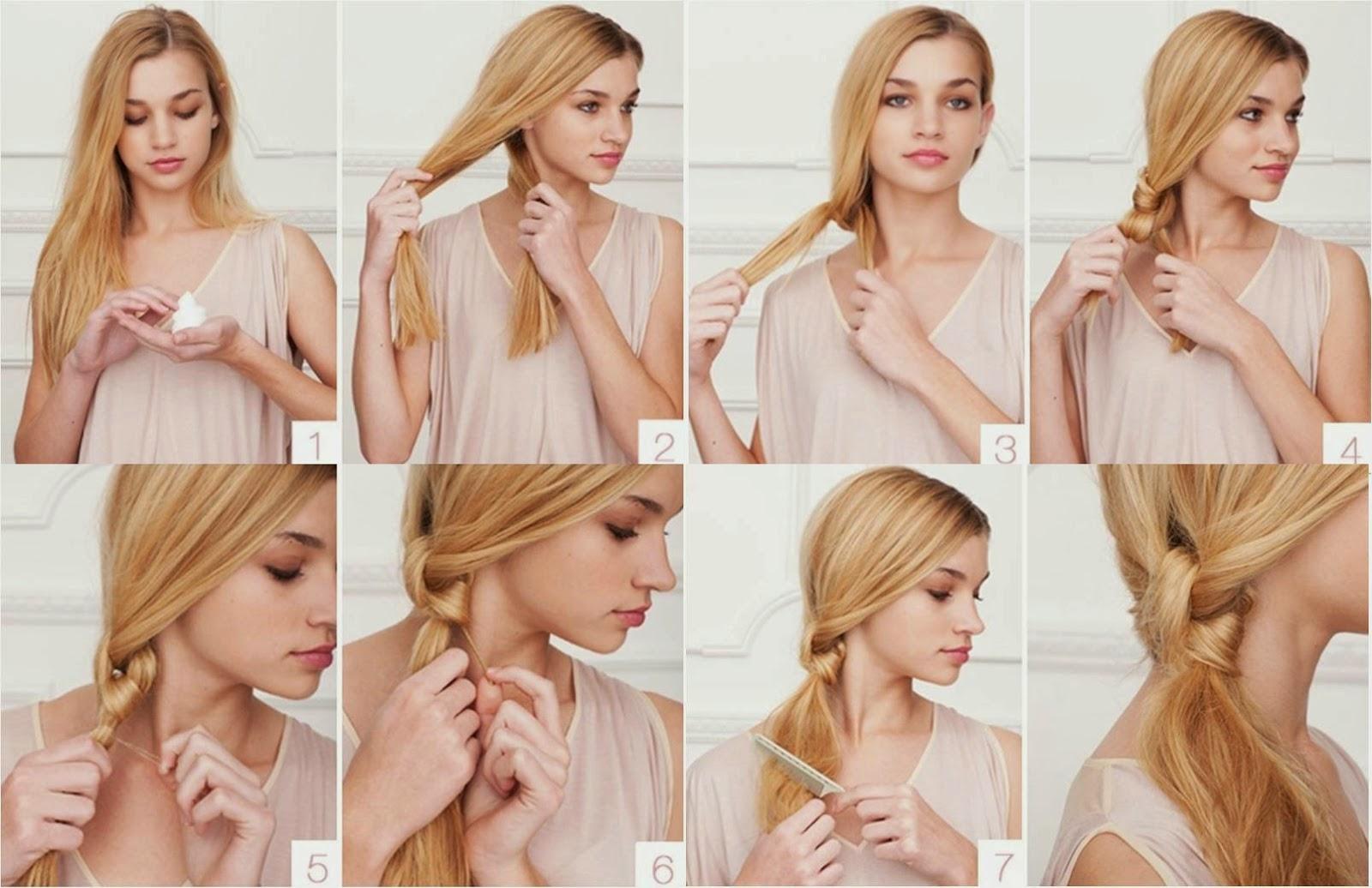 Cabelo : Penteados simples para usar no dia-a-dia