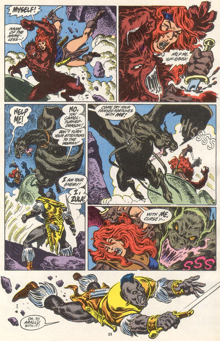 Conan the Barbarian (1970) Issue #249 #261 - English 18