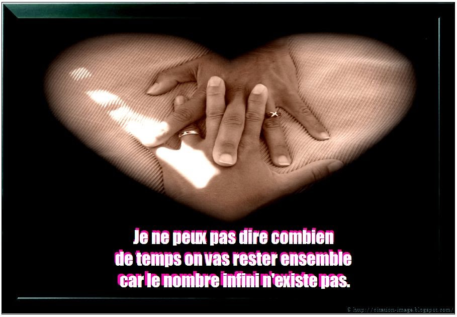 La plus belle citation d'amour en image