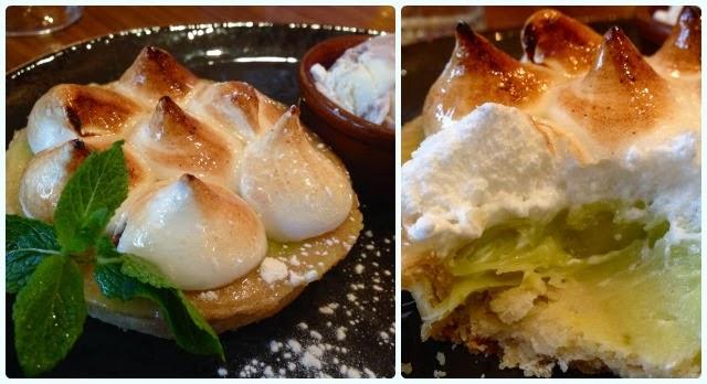 Hickory's Smokehouse, Chester - Key Lime Pie