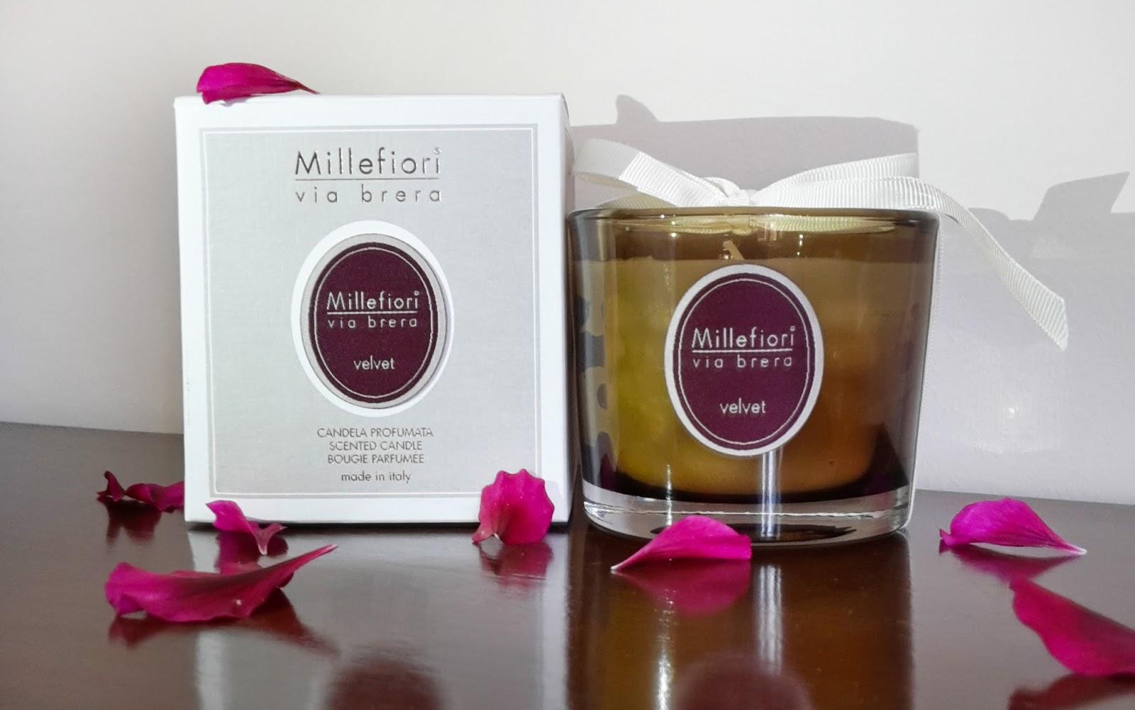 Candele Da Giardino Milano : Candle s u cbru e millefiori milano pier ef fect