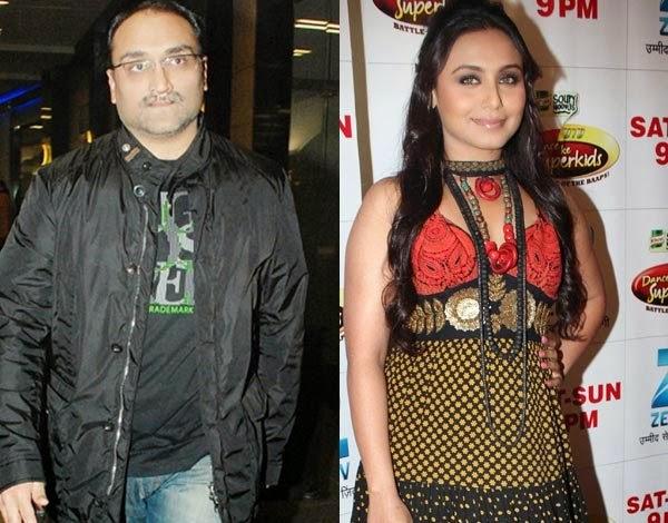 Rani Mukerji And Aditya Chopra Marriage Photos