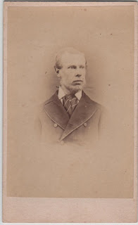 Carte de visite of a gentleman, by Sinclair & Co., London