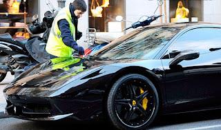 Ferrari, Ferrari 458, Mesut Ozil, Mesut Ozil, SPORT CAR