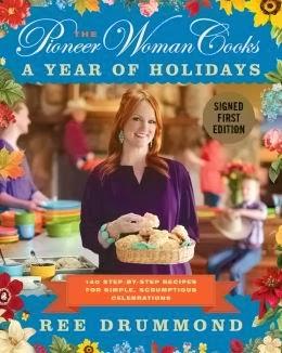 http://www.amazon.com/Pioneer-Woman-Cooks-Step---Step/dp/0062225227/ref=sr_1_1?ie=UTF8&qid=1389819971&sr=8-1&keywords=pioneer+woman+cooks+a+year+of+holidays
