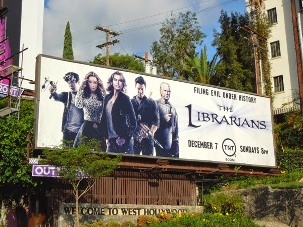 Librarians series premiere billboard