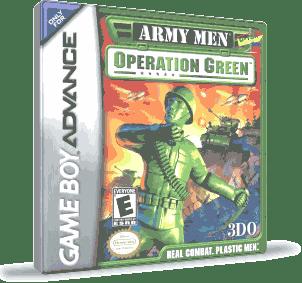 Army Men: Operation Green Box (Game Boy Advance) D-T3X F.A™