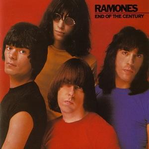 Portada del LP de Ramones: End of the Century (1980)