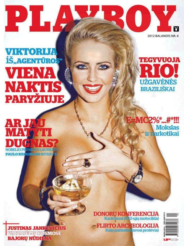 Playboy Lituania Abril De