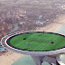Desde lo más alto del hotel Burj Al Arab en Dubai