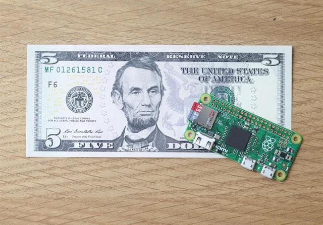 امتلك, الحاسوب, المصغر, من, Raspberry ,Pi, بسعر, 5, دولارات