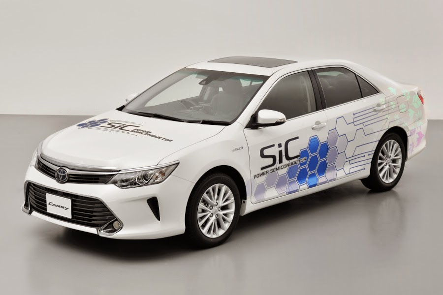 Toyota Camry Hybrid SiC Semiconductor Prototype (2015) Front Side