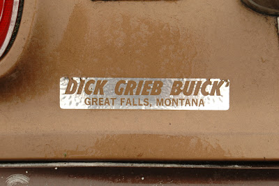 Dick Grieb Buick, Great Falls, Montana sticker