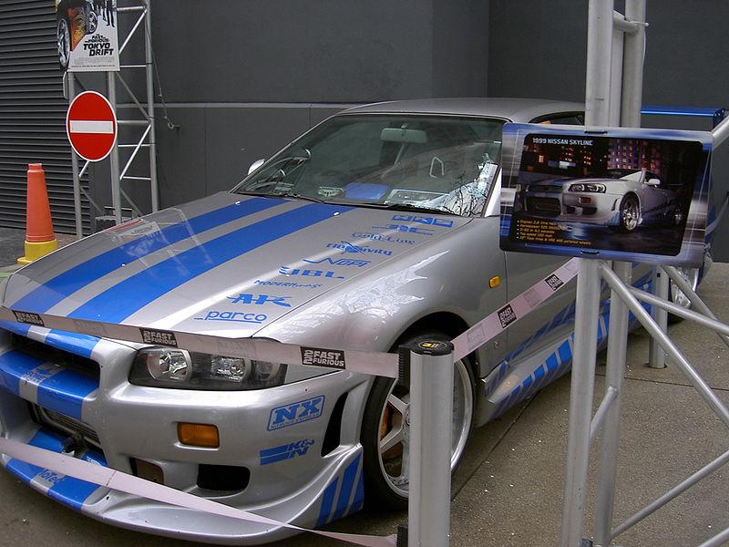 Nissan Skyline Gtr R34 2 Fast 2 Furious