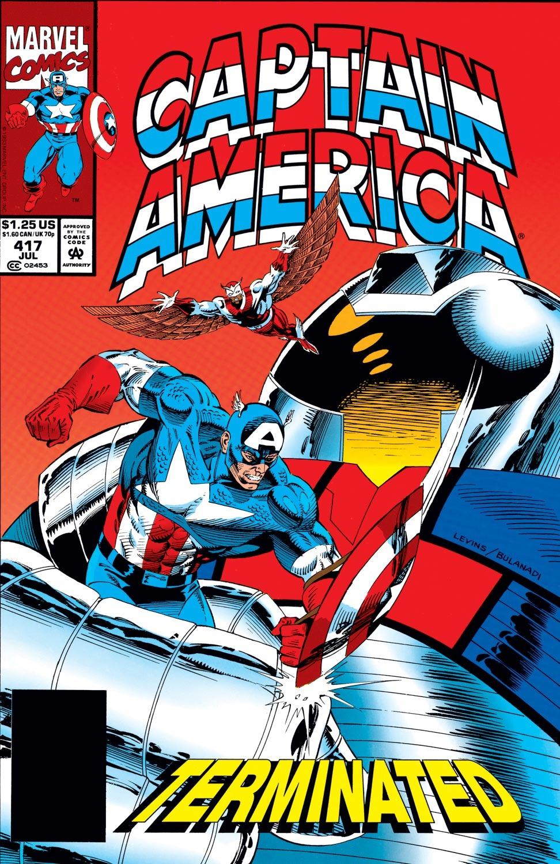 Captain America (1968) Issue #417 #366 - English 1
