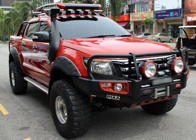 Ford ranger t6 safari snoker