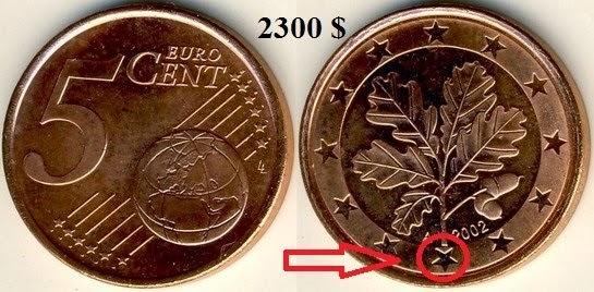 Редкие монеты евро