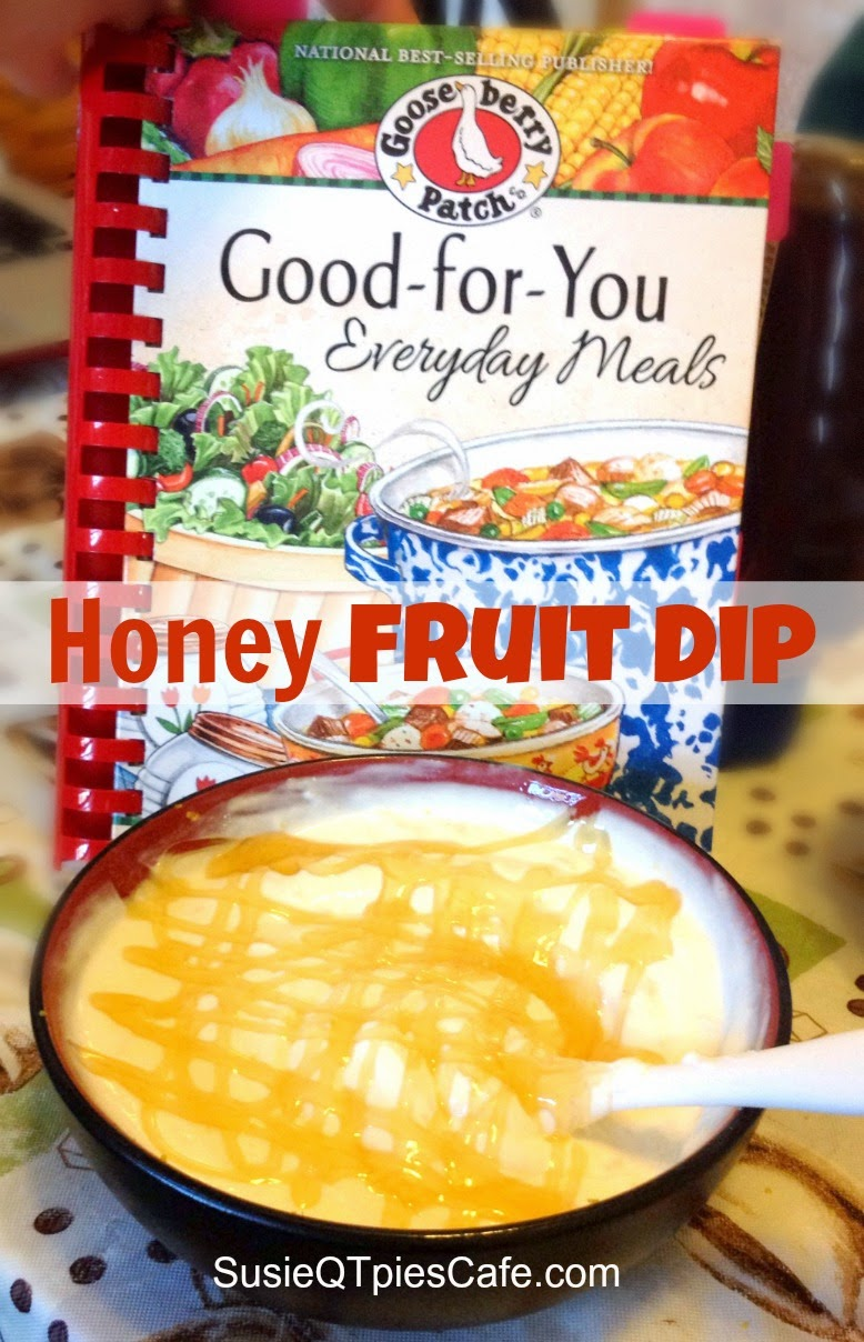 Healthy Honey Dip recipe