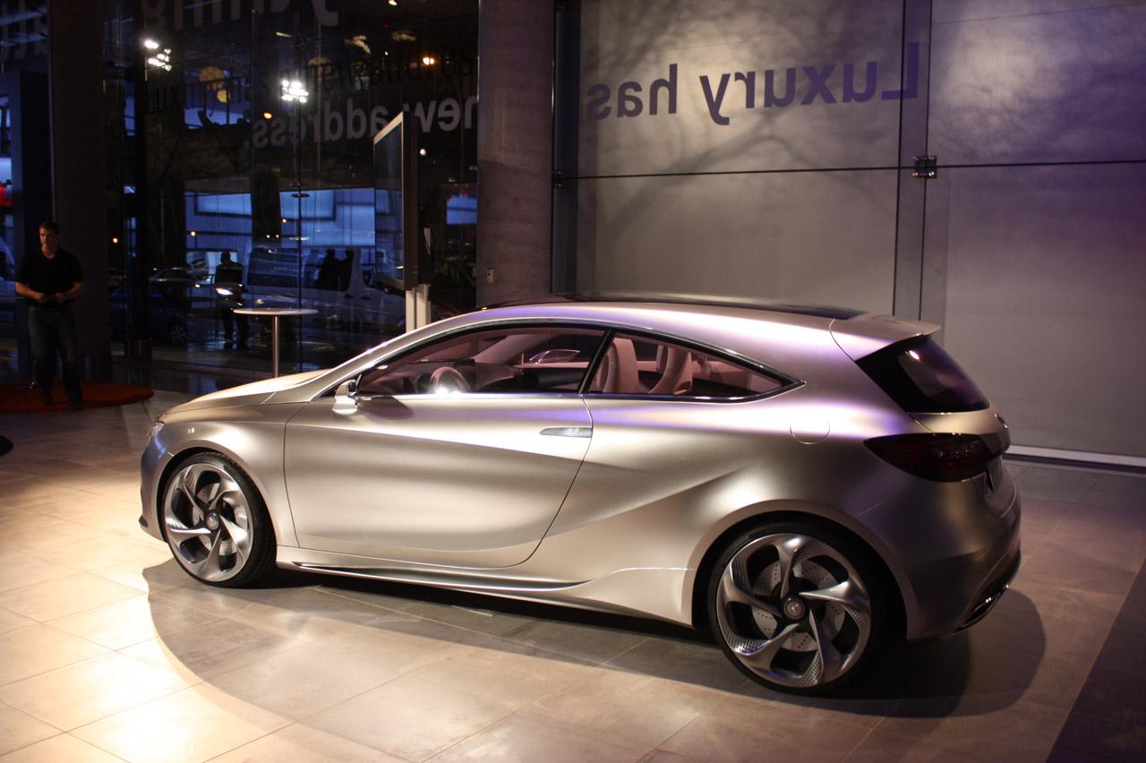 New mercedes benz a class concept car for New mercedes benz concept
