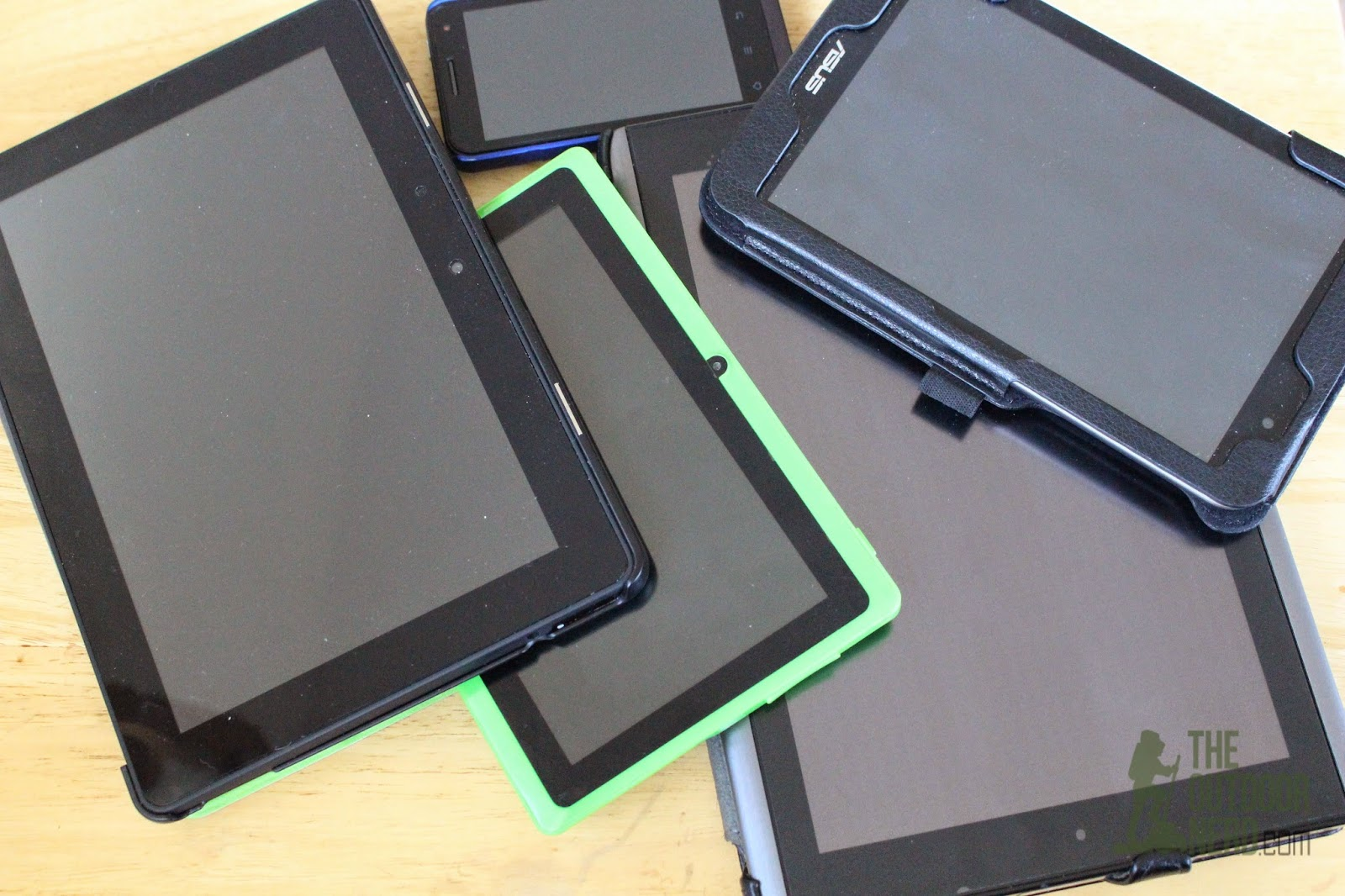 Tablets for Survival: A random assortment of our family's tablets
