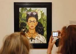 Frida Kahlo en Roma