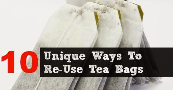10 unique uses for used tea bags the idea king - Uses for tea bags ...