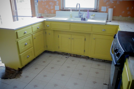 Beautifully Contained Kitchen Update Installing The
