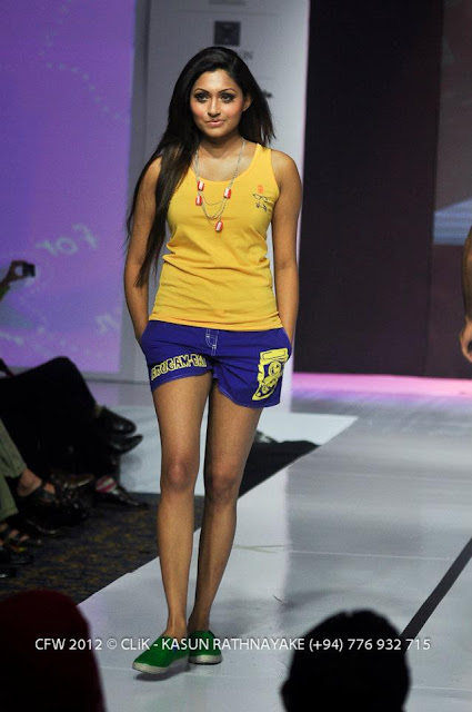 Colombo Fashion Week 2012 Bikini Fashion