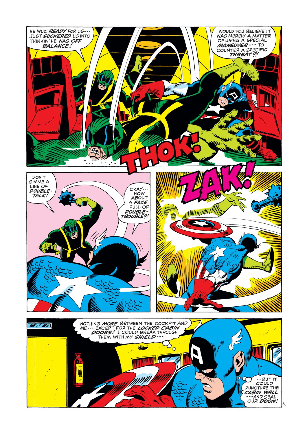 Captain America (1968) Issue #146 #60 - English 5