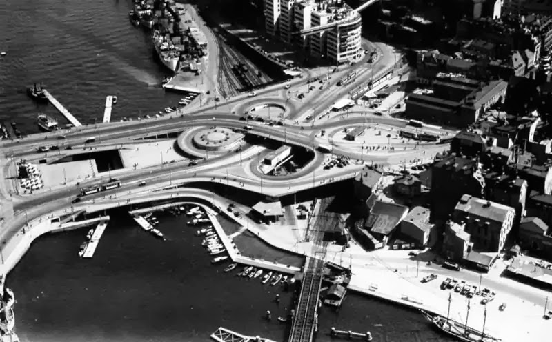 Año 1935. Vista aérea
