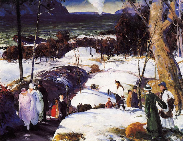 1915 Easter Snow