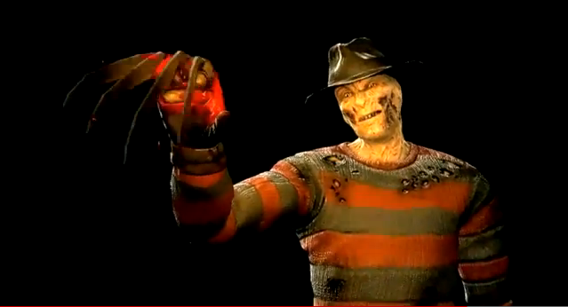 freddy krueger dlc for mortal kombat 9 2011