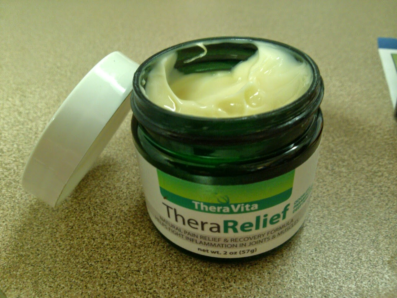 TheraRelief Natural Pain Relief Cream Review