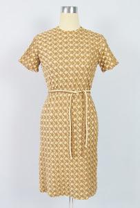 Vintage 1950's Secretary Wiggle Dress
