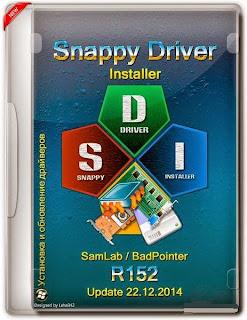Dwonload SNAPPY DRIVER INSTALLER R152 (X86/X64) MULTILINGUAL logo Cover by http://www.tanggasurga.blogspot.com
