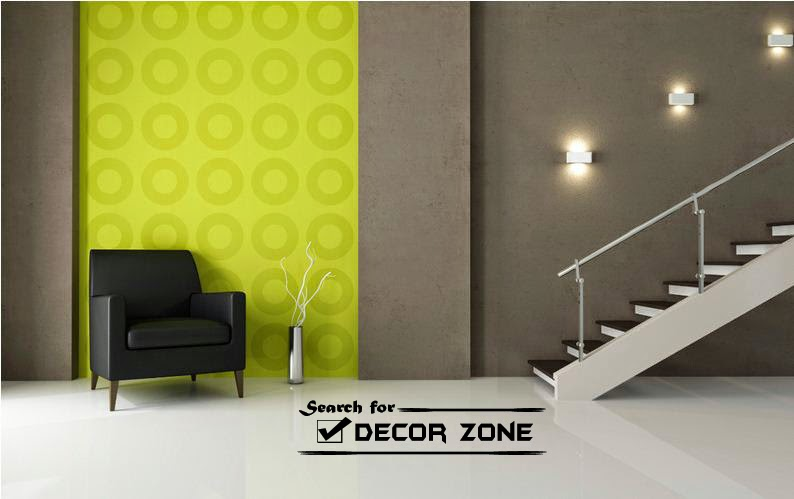 Staircase Wall Decor Ideas  Lighting Scones