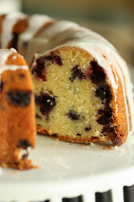 Half Baked: Blueberry Lime Pound Cake