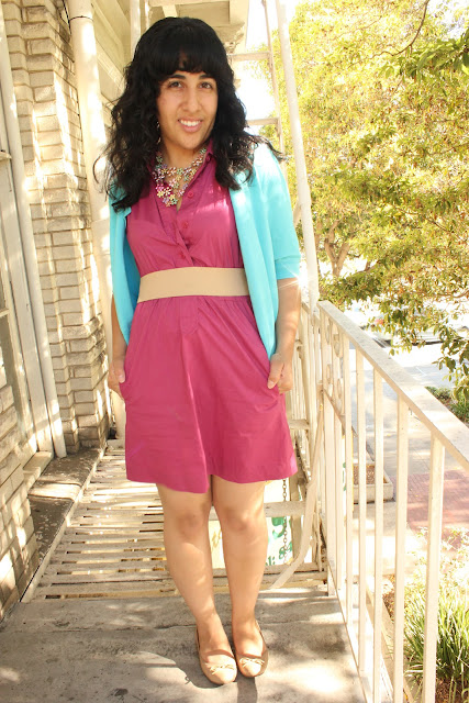 Spring Color Block Outfit