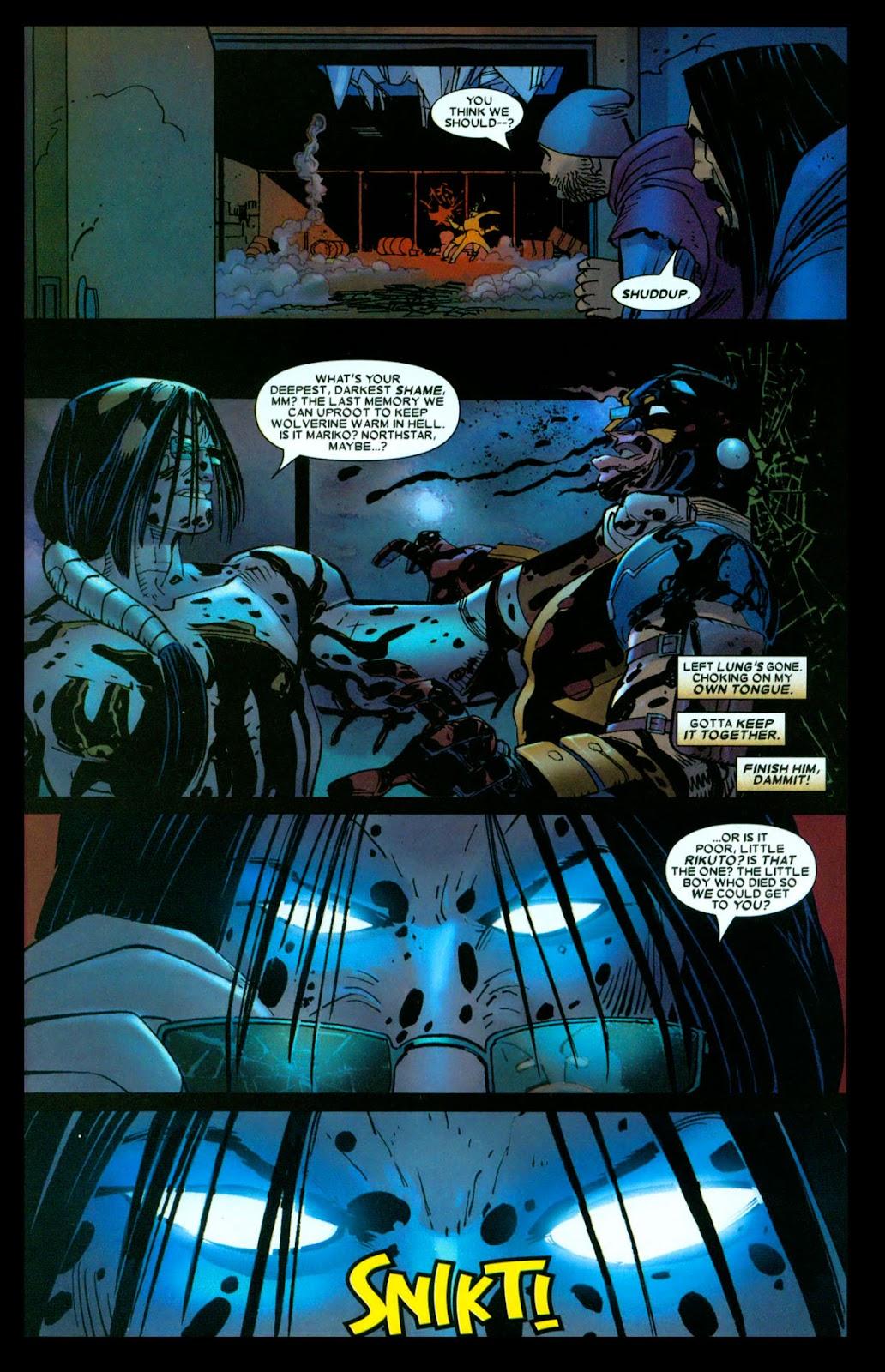 Read online Wolverine (2003) comic -  Issue #31 - 15