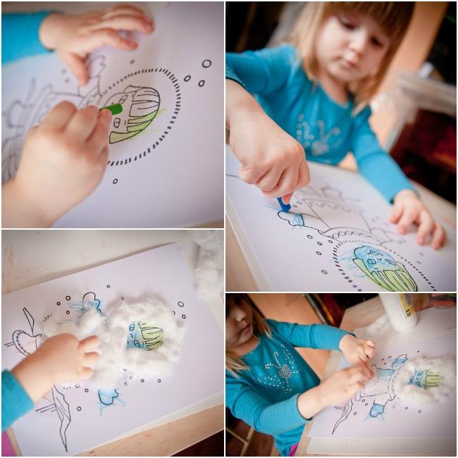 zabawy plastyczne dla dwulatka